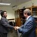 Secretary General Chileshe Kapwepwe with Russian Ambassador