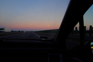 Motorway Sunset