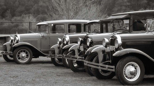 A cluck of Ford Model A's