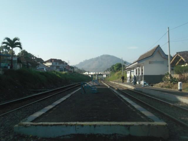 Stasiun Gadobangkong Pagi ini, Fujifilm FinePix JV300