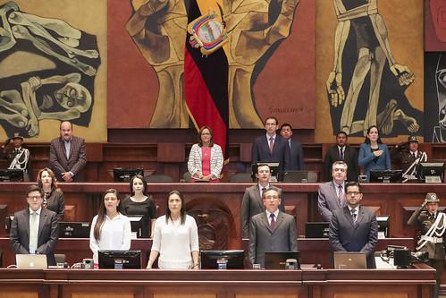 SESIÓN NO. 551 DEL PLENO DE LA ASAMBLEA NACIONAL, QUITO 08 DE NOVIEMBRE DEL 2018