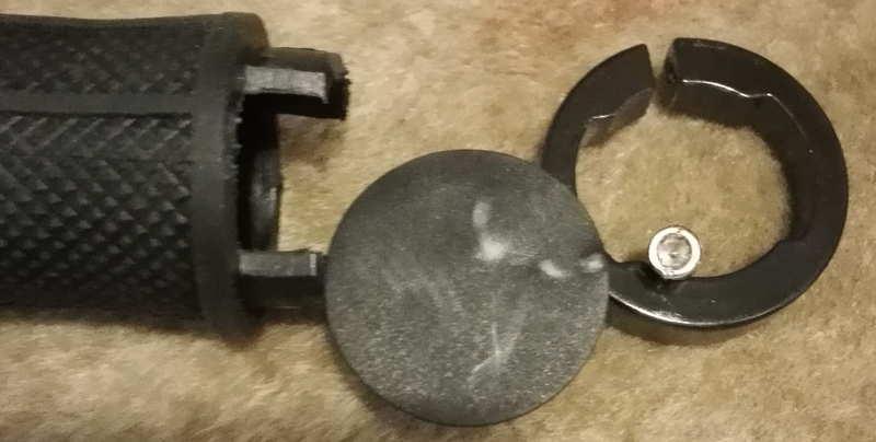 renault magnesum6 ハンドルの部品分解