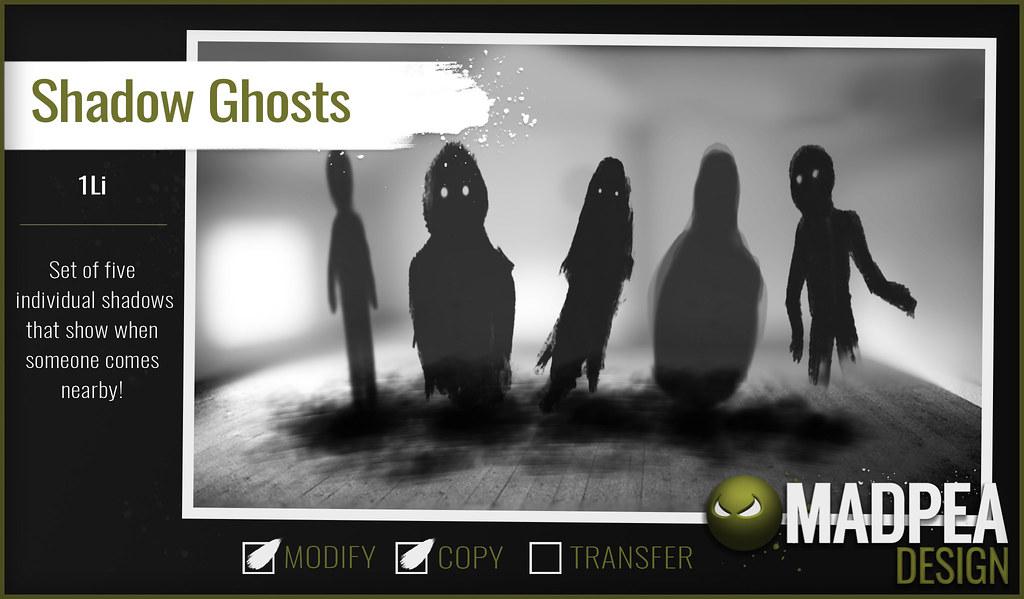 MadPea - Shadow Ghosts - TeleportHub.com Live!