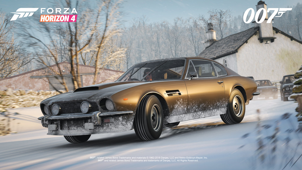 FH4 Best of Bond Aston Martin V8 Vantage