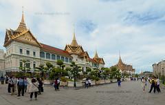 Chakkri Maha Prasat Throne Hall, Grand Palace, Bangkok
