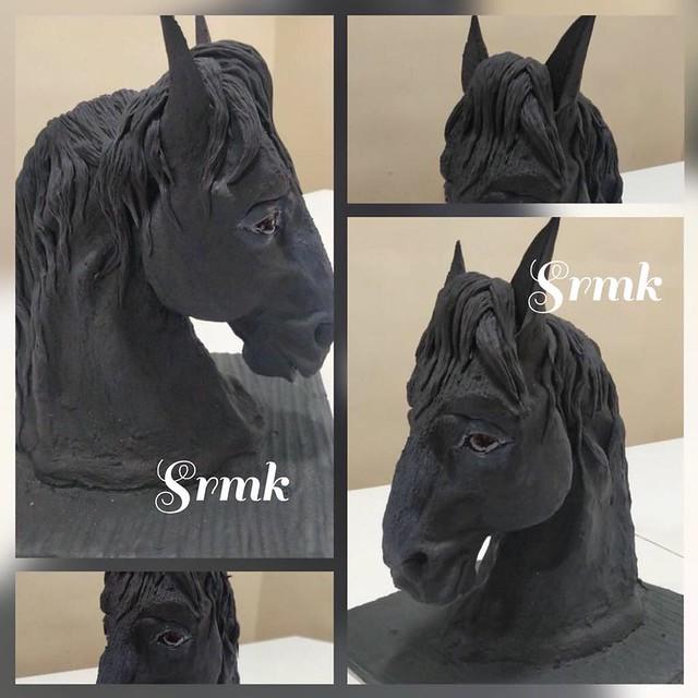 Sculpted Horse by Srikanth Kakarlamudi