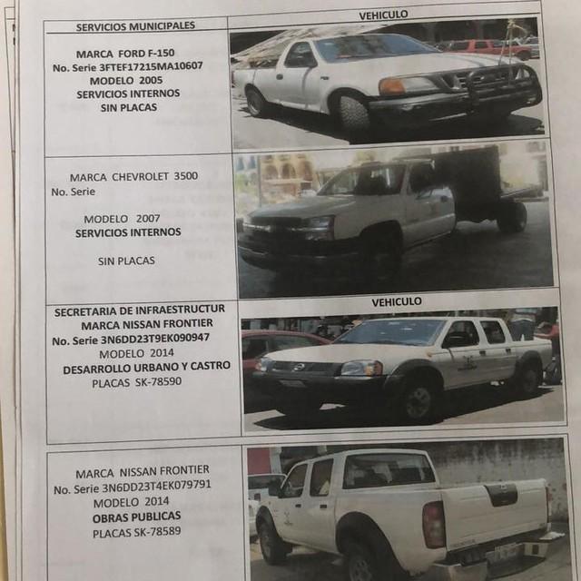 autos municipales en venta 1