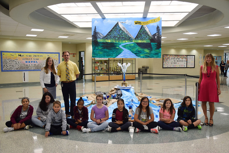 WFMS Unity Week Art Installation 2018