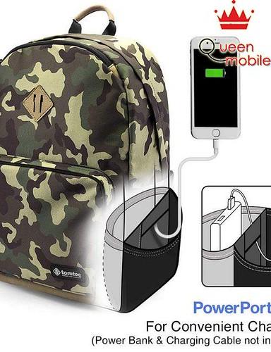 Khuyến mãi Balo TOMTOC (USA) lightweight multi-purpose Laptop 15 Camo A73-E01X01 giá rẻ tại QUEENMOBILE