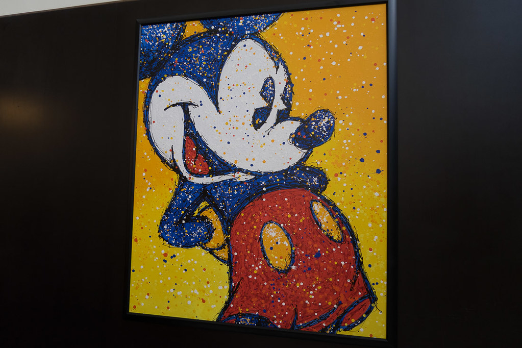 Mosaic of Mickey