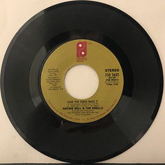 ARCHIE BELL & THE DRELLS:GLAD YOU COULD MAKE IT(RECORD SIDE-A)