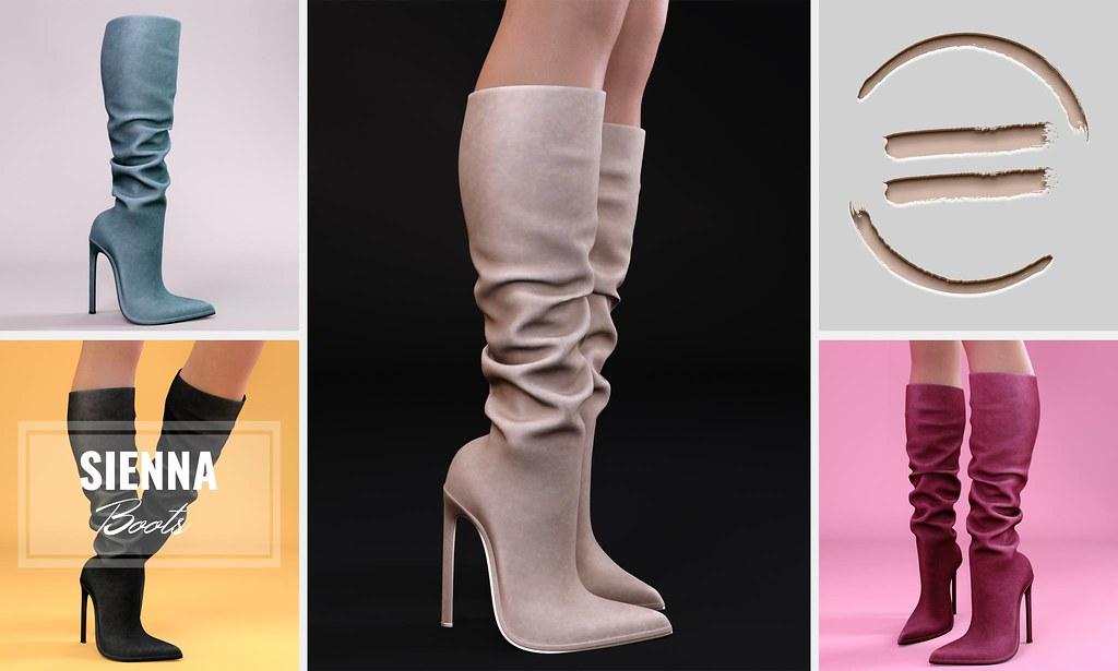 EQUAL - Sienna Boots @Tres Chic - TeleportHub.com Live!