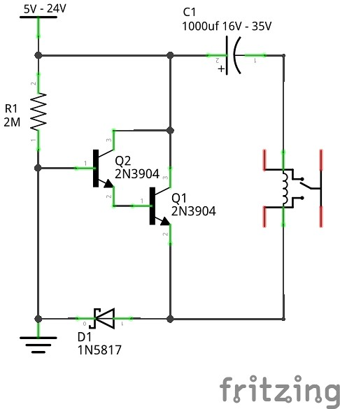 relays (dc) 99 9% less power \u0026 latching option 5 steps (with pictures)