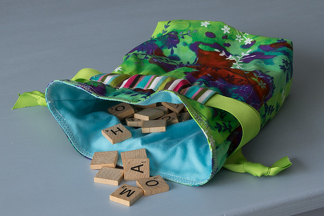 Scrabble Tile Bag