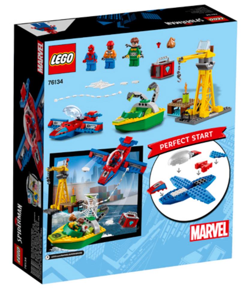 LEGO Spider-Man: Doc Ock Diamond Heist (76134)