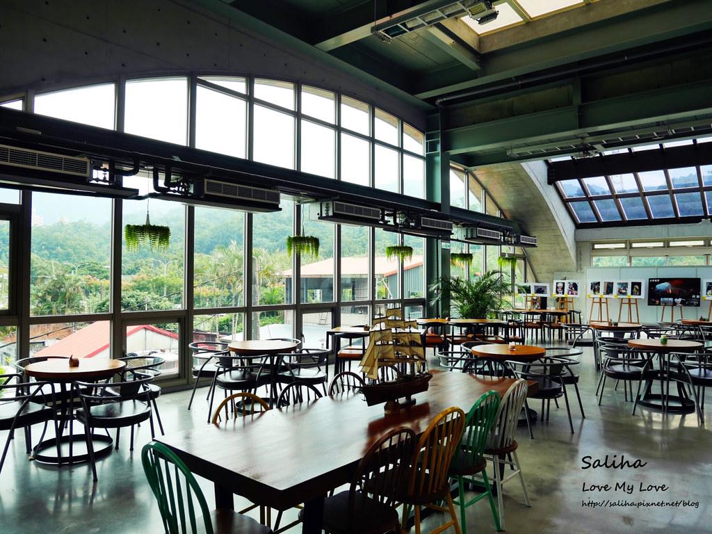 新北深坑老街一日遊景點推薦Arc Cafe下午茶玻璃屋咖啡廳 (2)