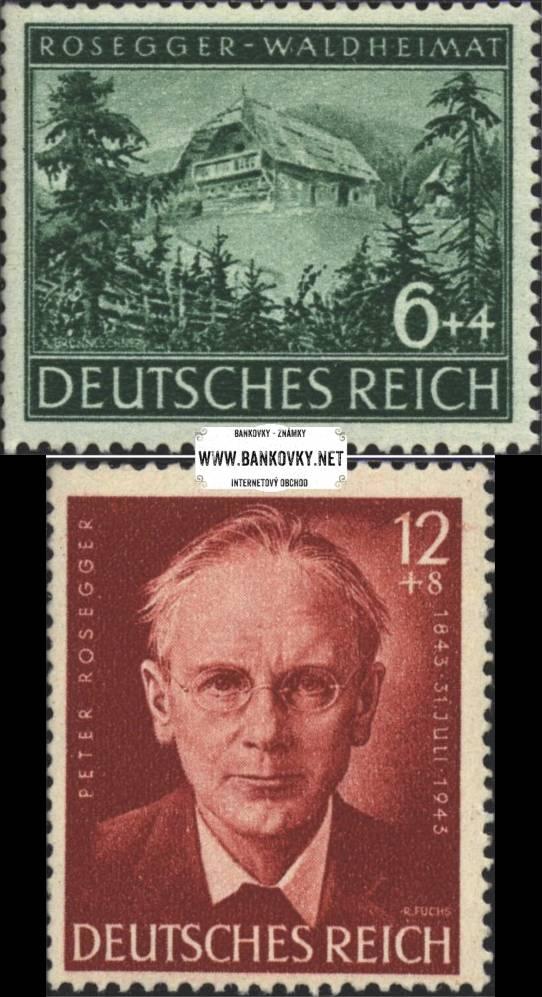 Známky Nemecká ríša 1944 Rosegger