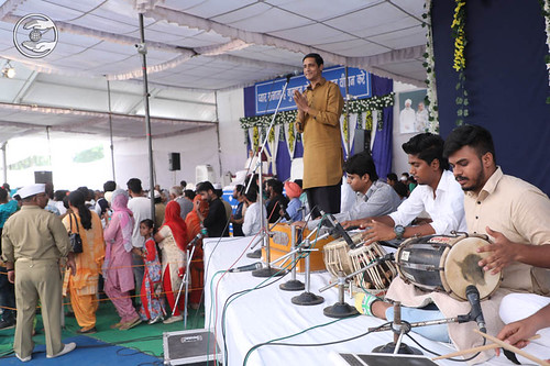 Devotional song by Ajay Bejod from Tarauri Haryana
