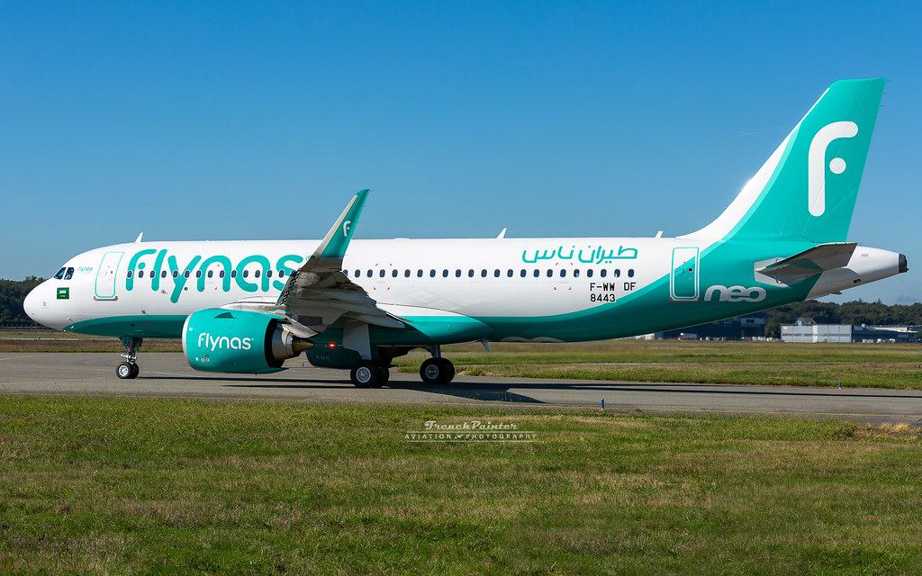 Airbus A320 Neo FlyNas HZ-NS22