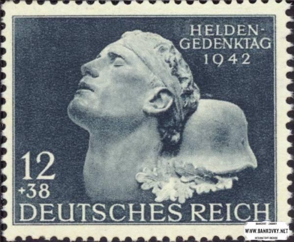 Známka Nemecká ríša 1942 Deň hrdinov
