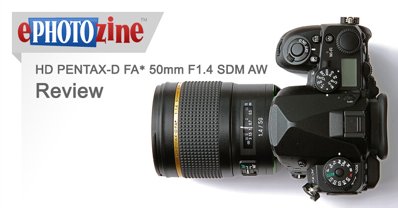 HD PENTAX-D FA★ 50mm F1.4 SDM AW Review