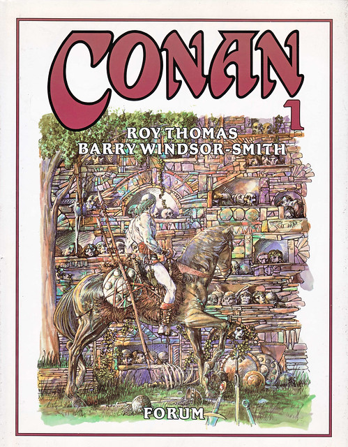 Conan de Roy Thomas y Barry Windsor Smith 01 -01- Portada