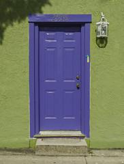 Gulfport, Florida: The Purple Door