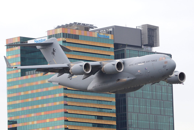 RAAF C-17A A41-207