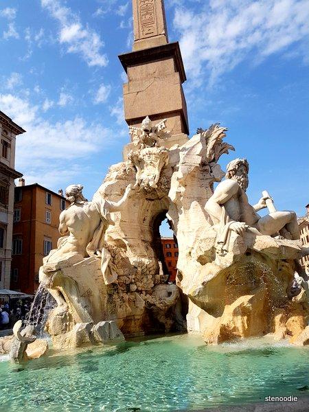 Fontana dei Quattro Fiumi (Fountain of the Four Rivers)