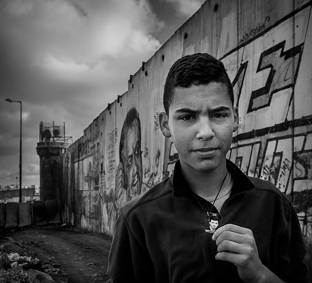 RP04 RP0401 mpereda (Cisjordania (Autoridad Nacional Palestina)) - El Muro 1 - Tomada en Checkpoint de Qalandia (entre Ramallah