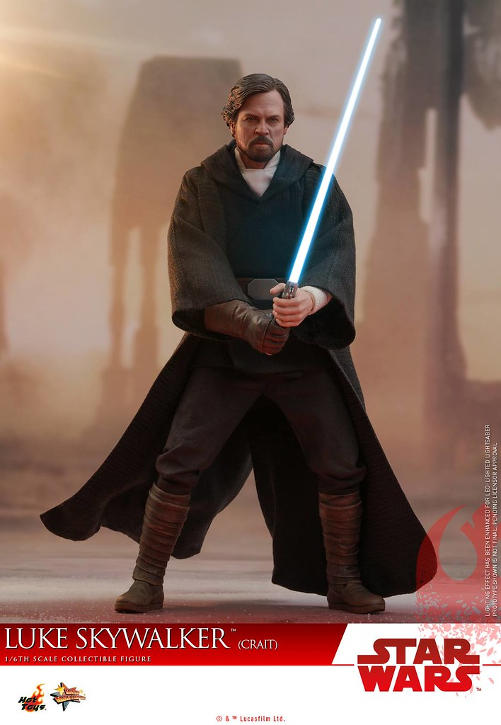 Hot Toys - MMS507 - Star Wars: The Last Jedi- 1/6 Scale Luke Skywalker (Crait) Collectible Figure