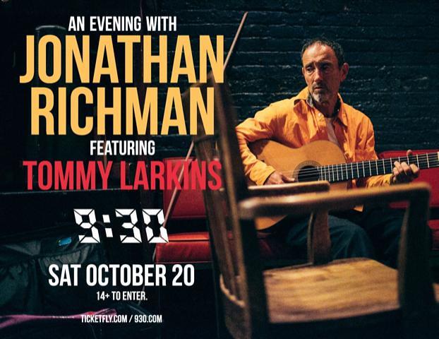 Jonathan Richman Flyer