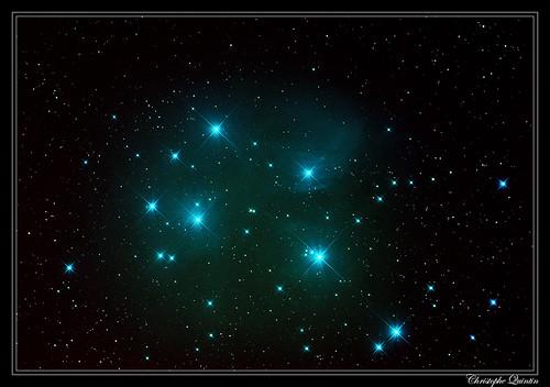 Amas des Pléiades - Messier 45