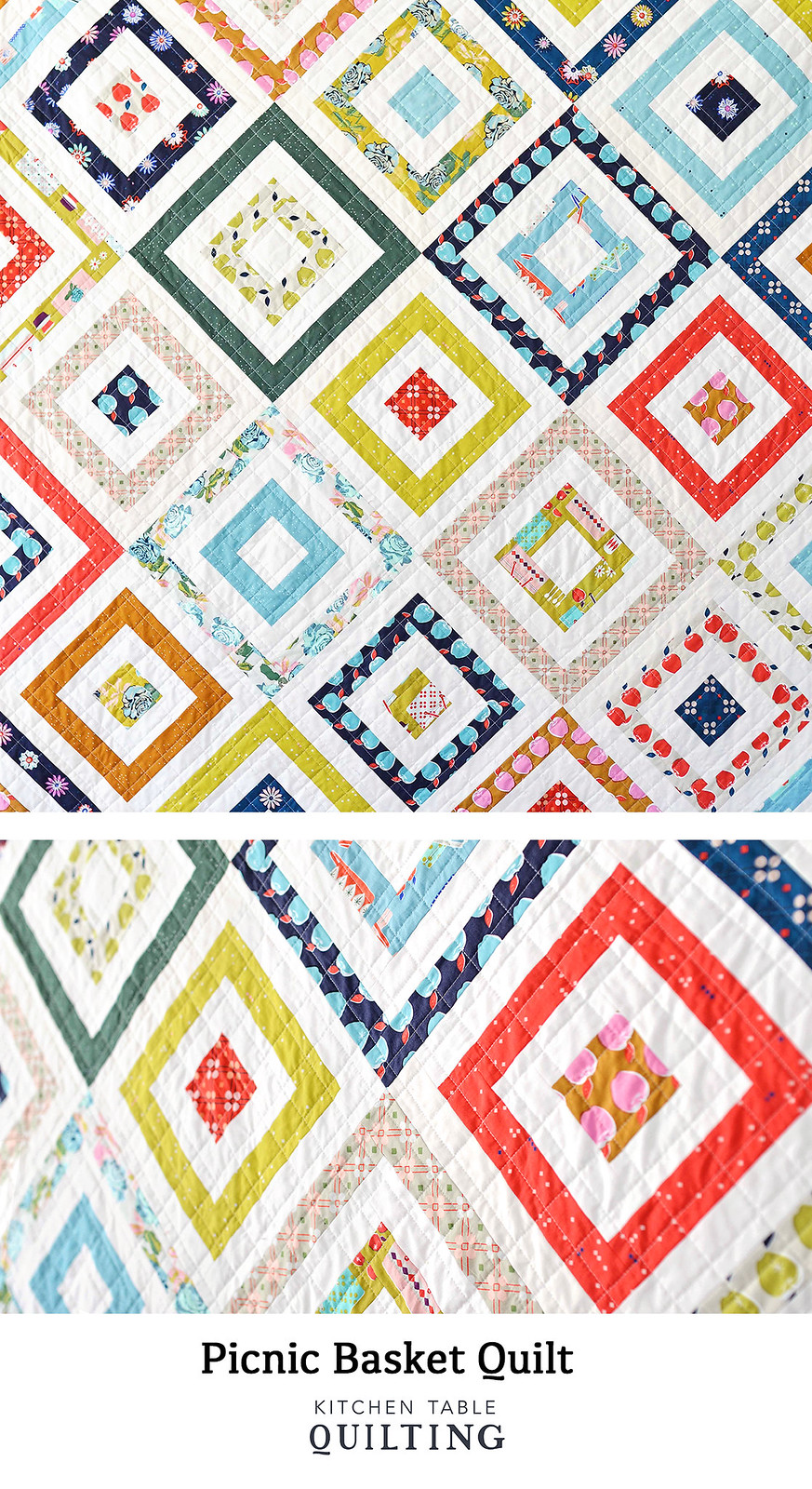 Picnic Basket Quilt - Kitchen Table Quilting