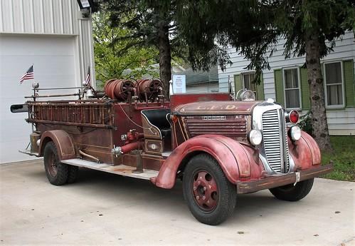 1937 Dodge Fire Truck