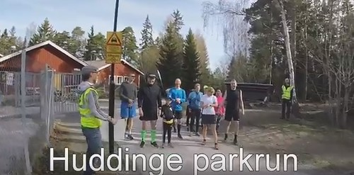 Huddinge parkrun video