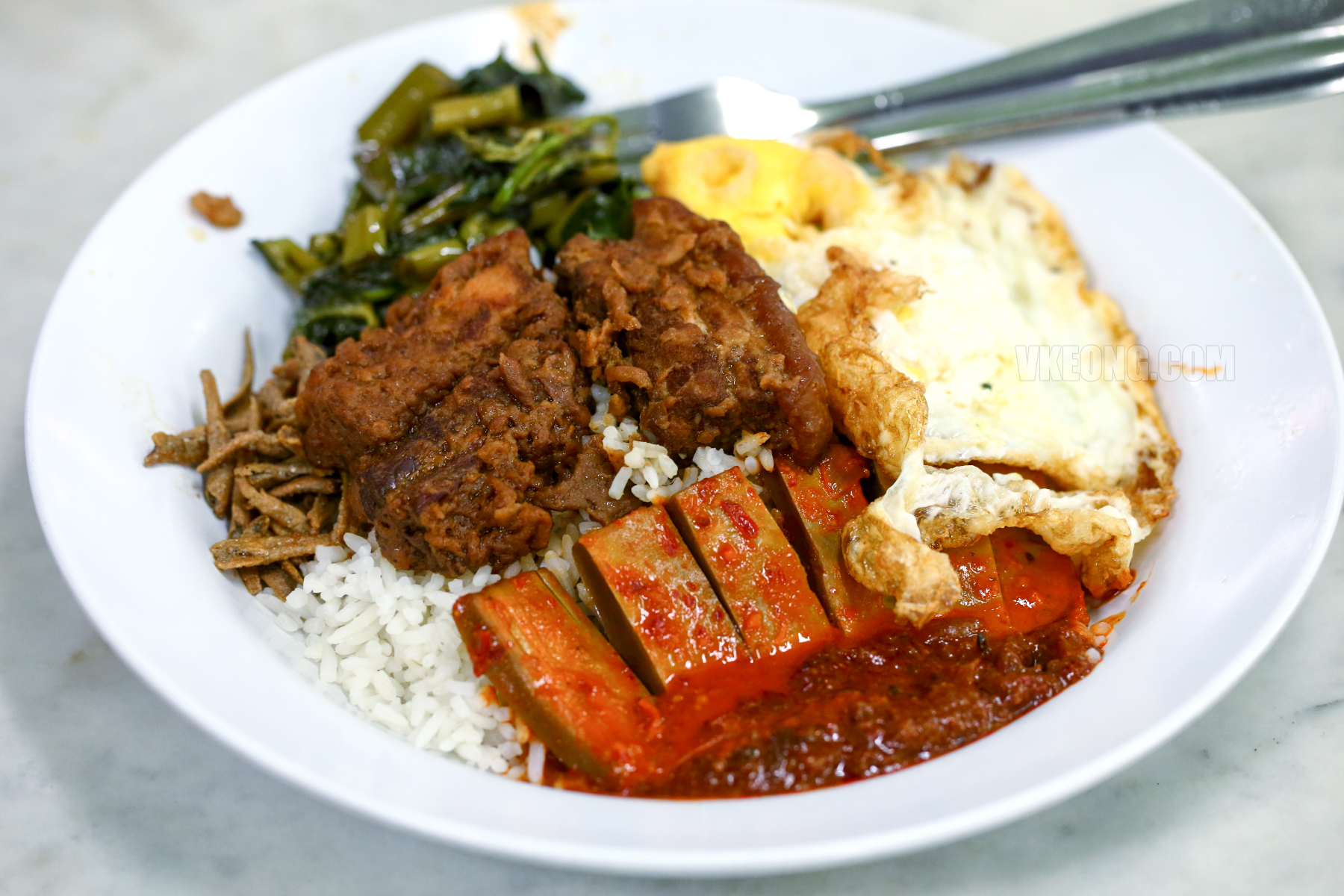 Chow-Kit-Nasi-Lemak-Hakka-Zha-Yuk