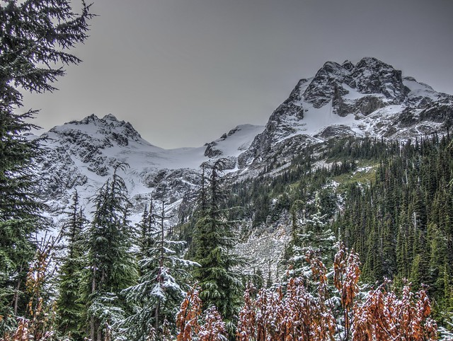 Cerise Creek Hike: Mount Matier, Anniversary Glacier and Mount Joffre