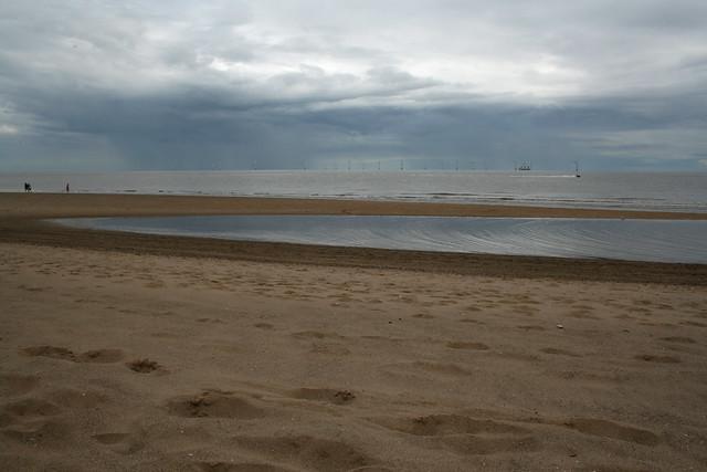 The beach near Ingoldmells