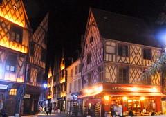 Bourges Nuits Lumières Maison de la Paneterie rue Jean-Girard