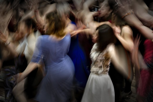 The dance; motion