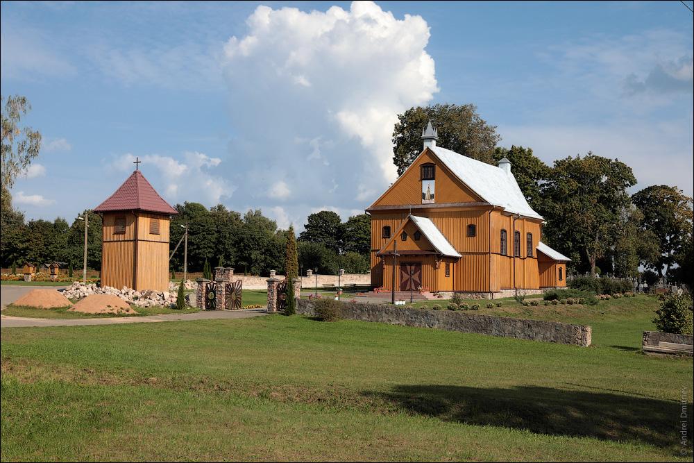 Гудогай, Беларусь, Костел Посещения Девой Марией Елизаветы
