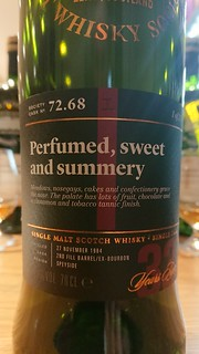 SMWS 72.68 - Perfumed, sweet and summery