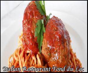 Italian food in Fond du Lac
