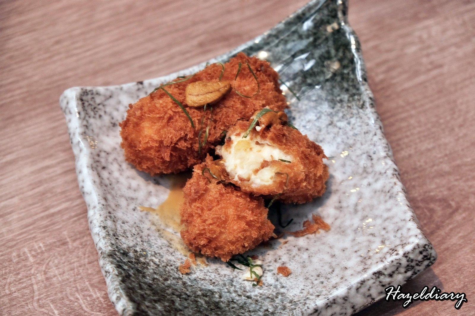 Maru Dine & Bar-Crab cream croquette