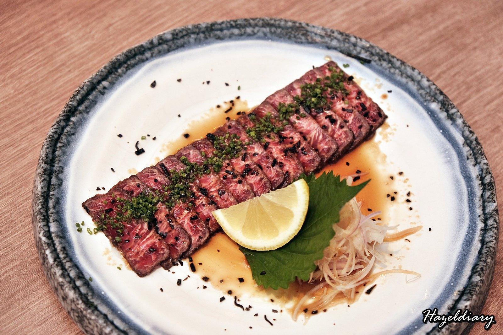 Maru Dine & Bar-Beef Carpaccio