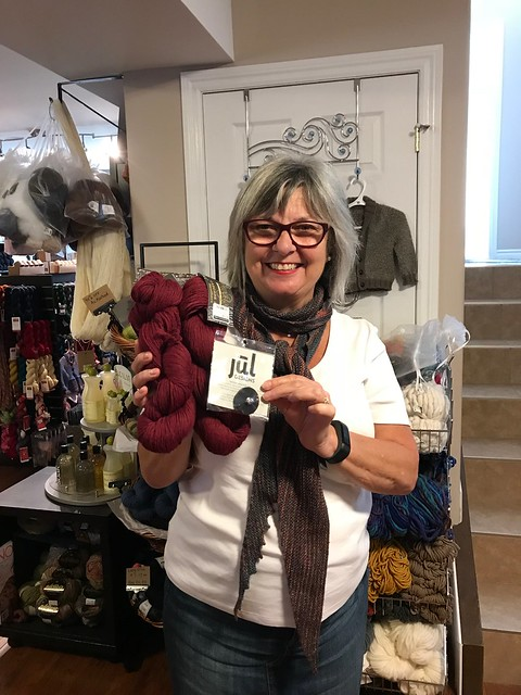Lise won the September 15th Knit-Along draw!!