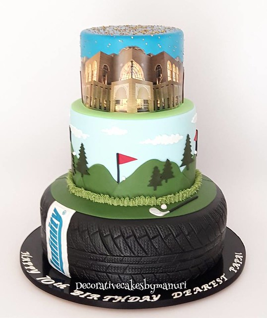 Cake from Decorative Cakes by Manuri