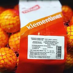 Que mejor que unas clementinas valencianas :)