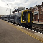 158890 at Woking leading 1L48, the 1225 Exeter St Davids to London Waterloo.